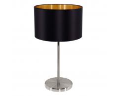 EGLO Maserlo 31627 Lampada da tavolo nera