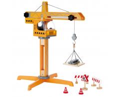 Hape Crane Lift E3011 Gru giocattolo per bambini