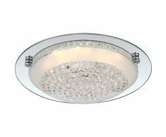 GLOBO Plafoniera a LED FROO in Vetro 48249