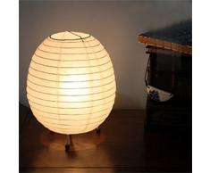 AGPtek 10Pcs 8 Pouces Lanternes en Papier Lampion Abat-jour Ronde Blanche Décoration pour Noël Mariage Anniversaire Fête