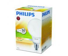 Philips SOFT ES 8YR12W/ Ampoule Economie dénergie 12 watts Softone ESaver Globe 12W/230V E-27 827