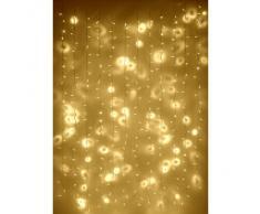 Rideau Lumineux 2m x 3m avec 288 LED Blanc Chaud pour Intérieur ou Extérieur, Type CC par Lights4fun