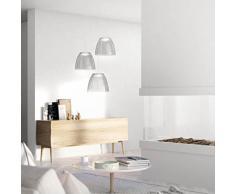 Philips - Suspension LED Tenuto grise - LED intégrée 4,5W (40W) - Luminaire dintérieur