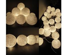 guirlande lumineuse boule acheter guirlandes lumineuses. Black Bedroom Furniture Sets. Home Design Ideas