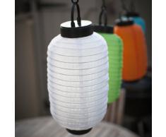 Lampion Chinois LED Solaire Blanc 25cm de Lights4fun