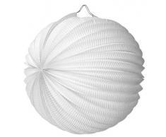 SUSY CARD - Lampion/ laterne, blanc, rond 25 cm, en papier