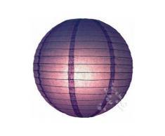 lampion boule chinoise violet 20 cm