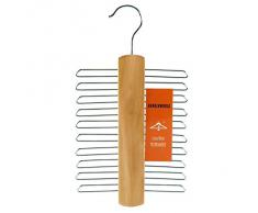 Hangerworld Porte-Cravate à 20 Supports - pour écharpes, Ceintures, Accessoires