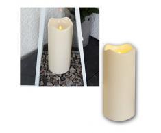 LED Bougie Lumière vacillante en plastique
