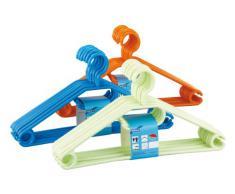 Wenko 14084100 Cintre Easy Plastique Lot de 10 Pièces - Coloris aléatoire
