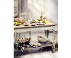 Villeroy&Boch - Bol Profond Mariefleur Serve & Salad, Bol à la Forme Galbée en Porcelaine Premium, Décor Floral, Compatible Lave-Vaisselle, 29cm