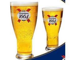 Verre à bière pinte Kronenburg 1664