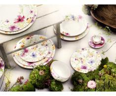 Villeroy & Boch 1041002620 Assiette Plate, Porcelaine, Blanc/Multicolore
