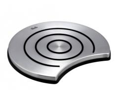 Fissler Dessous de plat en inox et silicone, Stable et antidérapant, Résistant à la chaleur, Diamètre: 18 cm, Couleur: Acier brossé, Magic