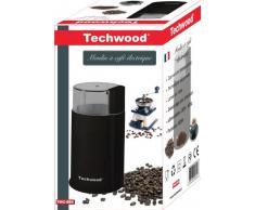 Techwood TMC-886 Moulin à Café 10,8 x 10,8 x 18,5 cm