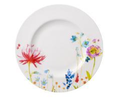 Villeroy & Boch Anmut Flowers Assiette plate en porcelaine Motif fleurs/multicolore 27 cm