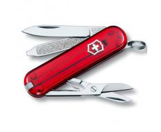 Victorinox 0.6223.T Canif 5 P Rouge Translucide