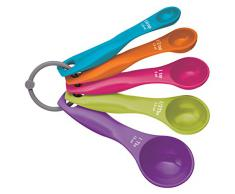 Kitchen Craft Colourworks Lot de 5 cuillères doseuses