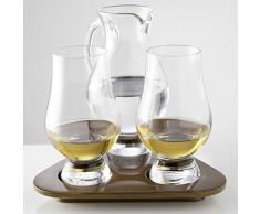 The Glencairn Glass Official Lot de 2 Verres et carafe à Whisky de dégustation