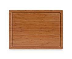 Zeller 25220-planche à découper en bambou - 45 x 33 x 1,6 cm