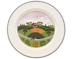 Villeroy & Boch 10-2337-2627 Assiette Plate Porcelaine Vert 29,2 x 29,2 x 8,5 cm 1 Assiette