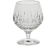 "Verre de cognac, verre en cristal, verre de brandy, Collection ""RHOMBUS"", transparente, cristal, 13 cm, style moderne - uniques (GERMAN CRYSTAL powered by CRISTALICA)"