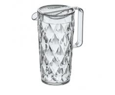 Koziol 3688535 Crystal Pichet Plastique Transparent 10 x 16 x 22,5 cm 1,6 L