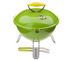 LANDMANN 31375 - Barbecue de Table Charbon Piccolino - Limette