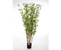 Bambou artificiel, arbuste avec 600 petites feuilles, 70 cm - arbre artificiel - artplants