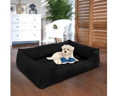 Songmics XL Panier Pour lit chien Dog Bed Coussin Matelas Animaux 100x70x28cm PGW28H