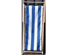 chaise longue en toile pour l 39 t livingo. Black Bedroom Furniture Sets. Home Design Ideas