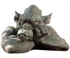 Design Toscano JE112121 Sculpture de Goliath la gargouille Gris 30,5 x 43 x 29 cm