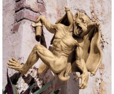 Design Toscano sculpture gothique Gaston, la gargouille grimpeuse - Moyen
