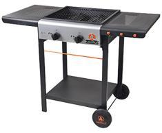 Laguiole 5BBQ052LG Barbecue à Gaz 2 Bruleurs 110 x 52,5 x 81,5 cm