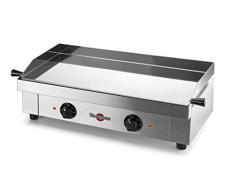 Krampouz GECIF2AO barbecue électrique en Acier inoxydable–(3200W, Grille, électrique, planche, Acier inoxydable)