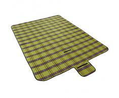 Jago - Couverture Tapis de Pique-Nique Camping Polaire 190 x 150 cm Pliable Portable (Couleur au Choix)