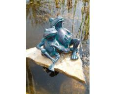 Gargouille figurine 2 Grenouilles