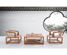 Salon de jardin Andaman, design haut de gamme en teck