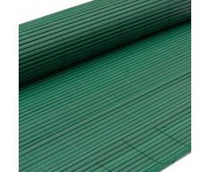 Canisse en pvc 120 x 500 cm Vert