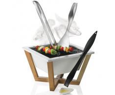 XD Design - Nido, barbecue de table design Blanc