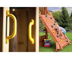 Portique aire de jeux Tornade, 460 x 150 x 290 cm -PEGANE-