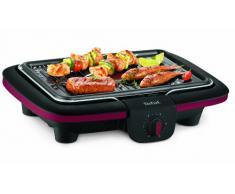Tefal CB902O12 Barbecue Electrique avec Pieds Noir/Bordeaux 2300 W
