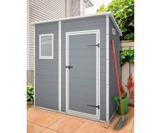 Keter/chalet et jardin 12-922518 Premium Monopente 64 Abri de Jardin Gris 183 x 113 x 201 cm