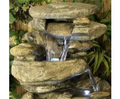 fontaine en pierre acheter fontaines en pierre en ligne sur livingo. Black Bedroom Furniture Sets. Home Design Ideas