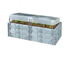 Juwel 20575 carré potager surélevé avec toit thermique 2 en 1