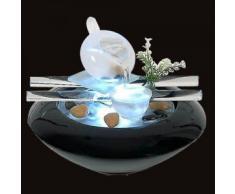 Zen'Light SCFV01 Tea Time Fontaine d'Intérieur Noir 25 x 25 x 20 cm