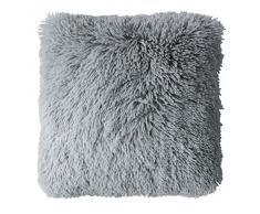 Couleur Montagne Coussin Décor Polyester Gris 40 x 40 x 40 cm