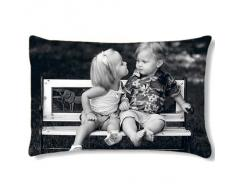 Coussin rectangulaire avec PHOTO PERSONNALISEE