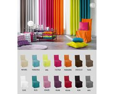 Housse de chaise à nouettes - Essentiel - Différents coloris