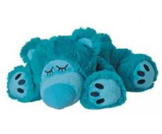 "Bouillotte Peluche Micro-Ondes BEDDY BEAR ""Sleepy Bear turquois"""